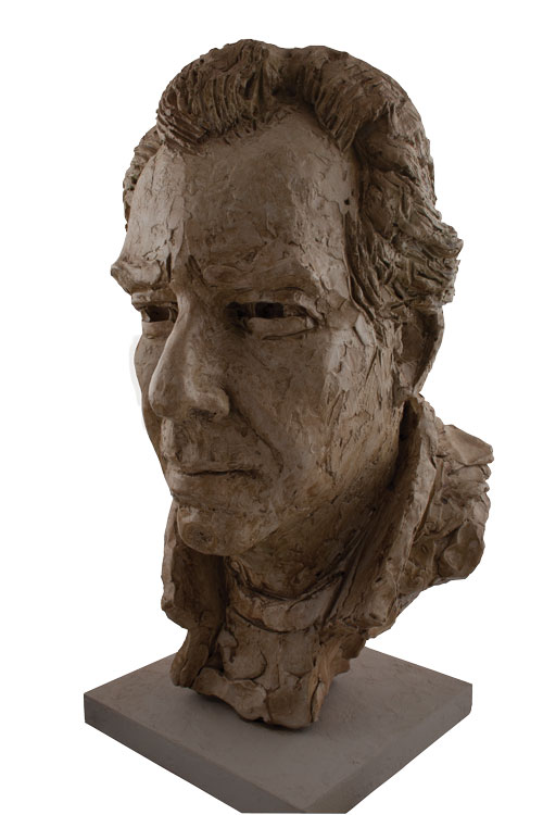 Jonathan Edwards, Sculptor Mike Edwards,portrait of Jonathan