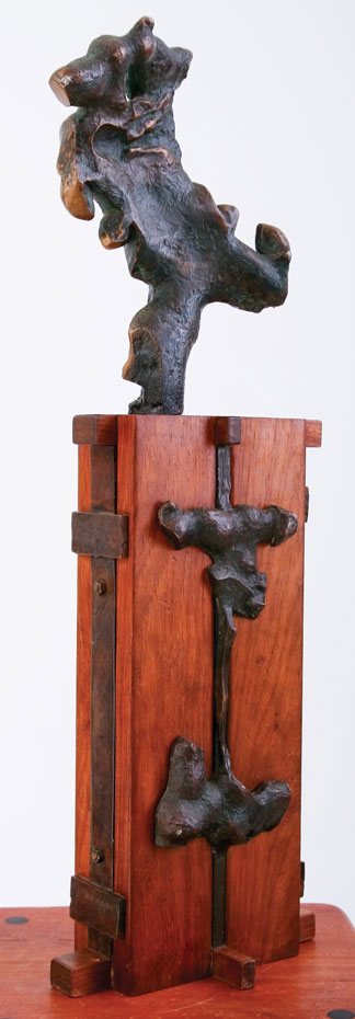 Maquette, Sculptor Mike Edwards,abstract sculpture