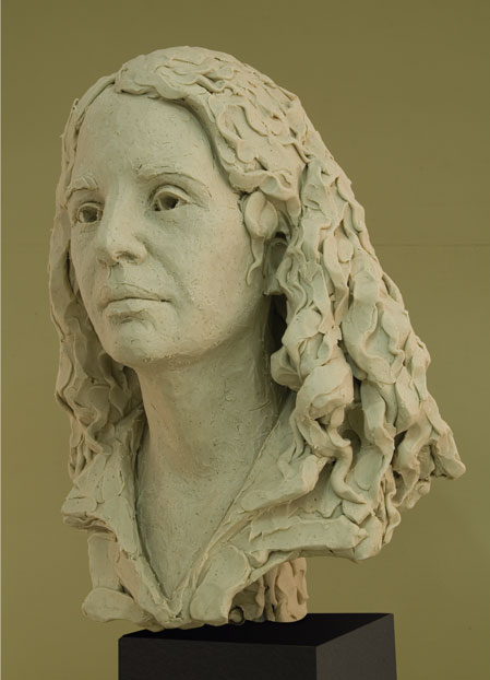 Ana de Franca, Ana Edwards, Sculptor Mike Edwards,south africa,portrait