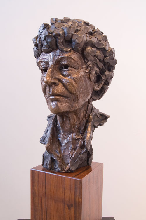 Bettie Cilliers Barnard, Sculptor Mike Edwards,portrait commisions