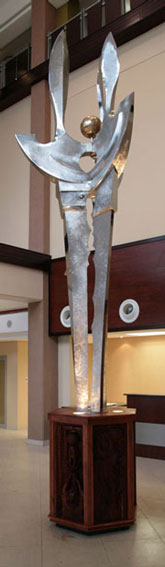 Polokwane Sculpture, Sculptor Mike Edwards,Sculpture commission