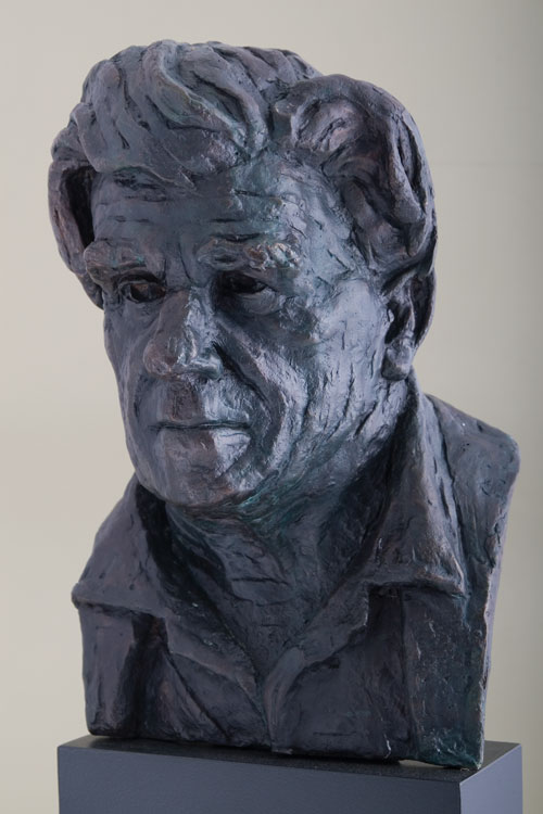 Stefan Ampenberger, Sculptor Mike Edwards,portrait commission