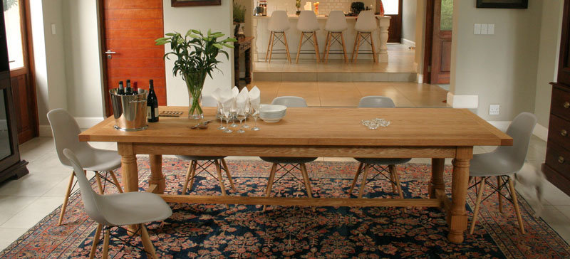 Dinning table, designer Mike Edwards