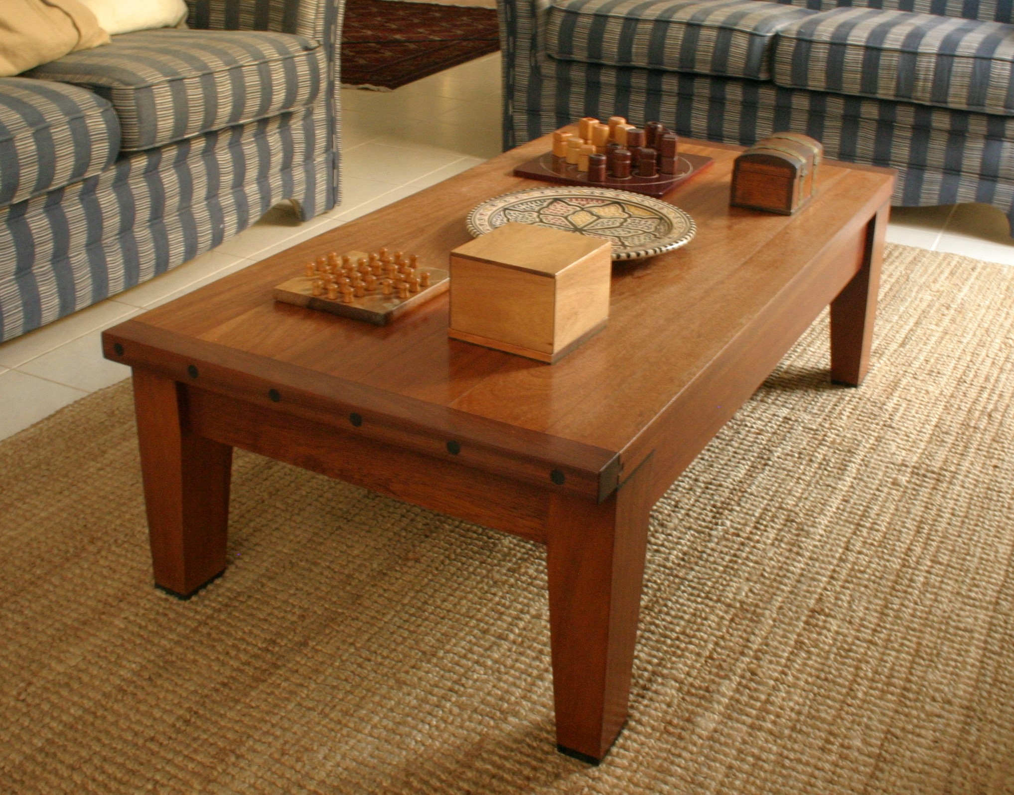 coffee table, designer Mike Edwards